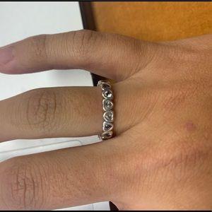 Pandora heart band ring